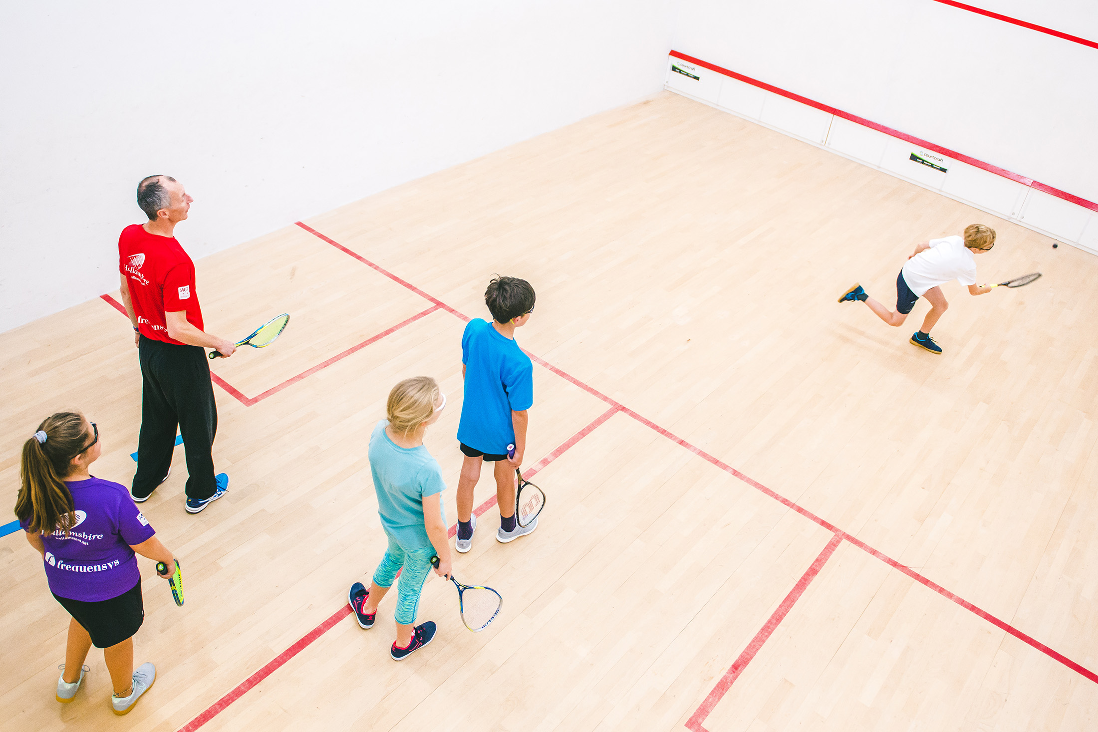 Beginners & Intermediate Squash