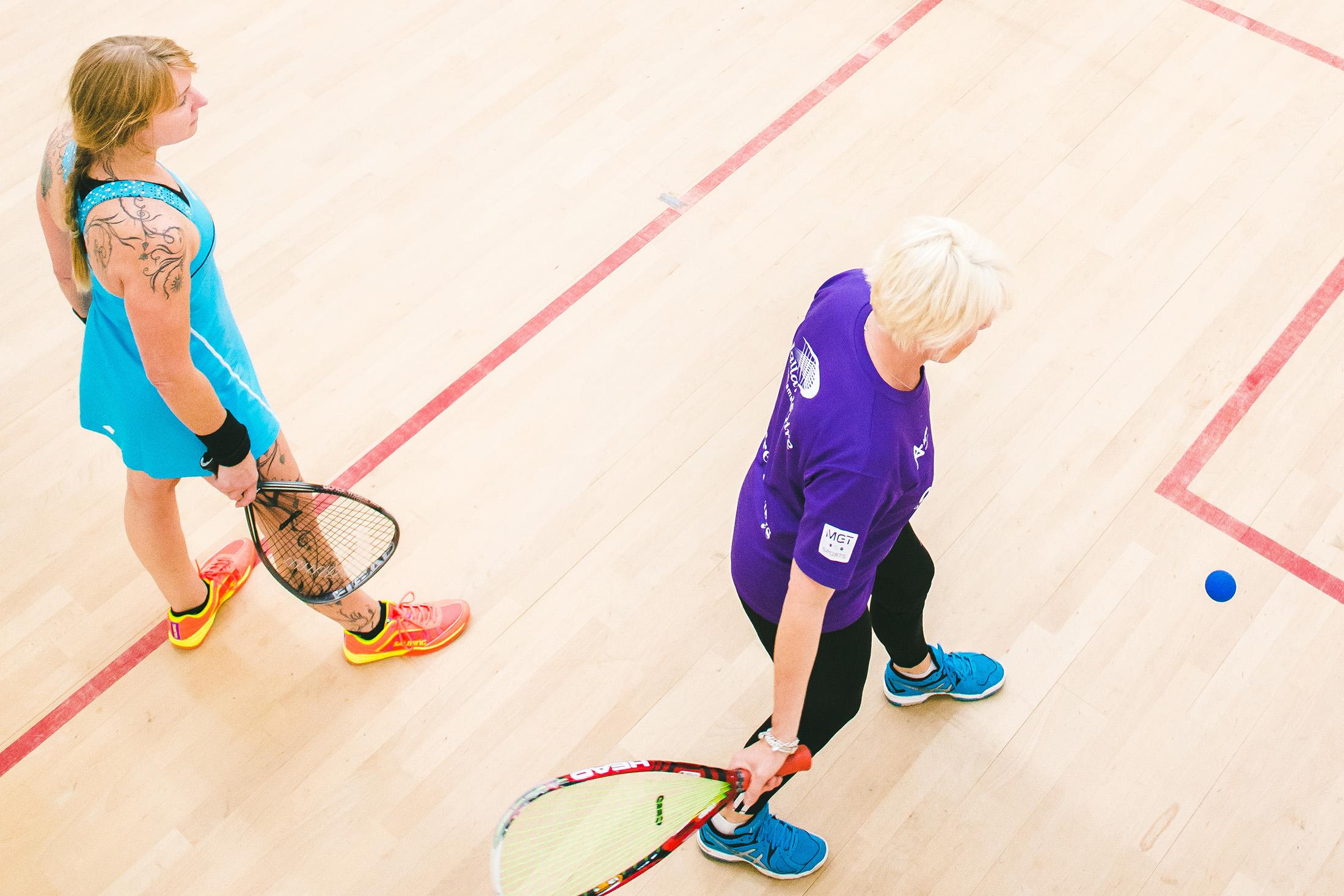 Ladies Racketball