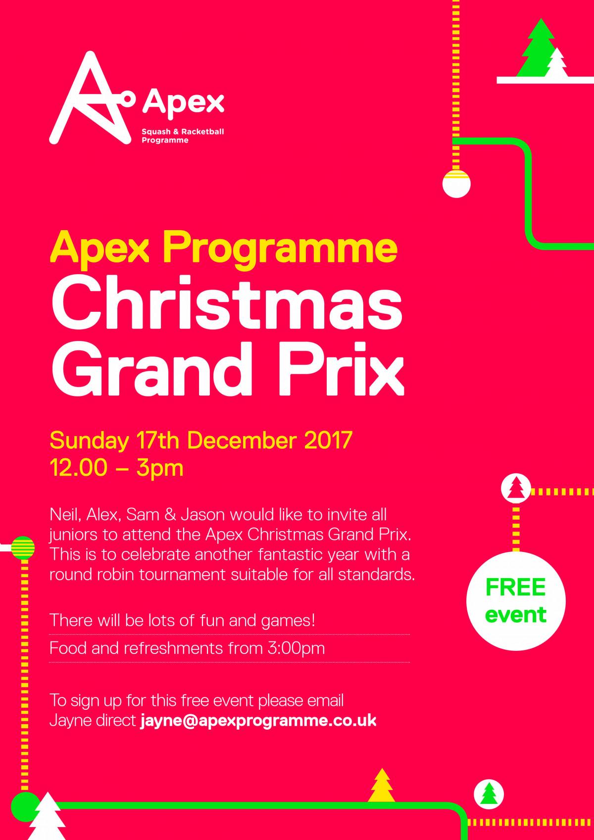 Junior christmas tournament party events apex apex christmas party stopboris Gallery